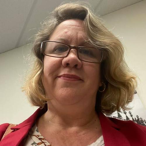 selfie in the waiting room