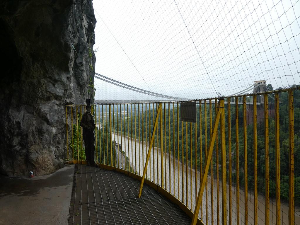 Giant's Cave balcony, Avon Gorge