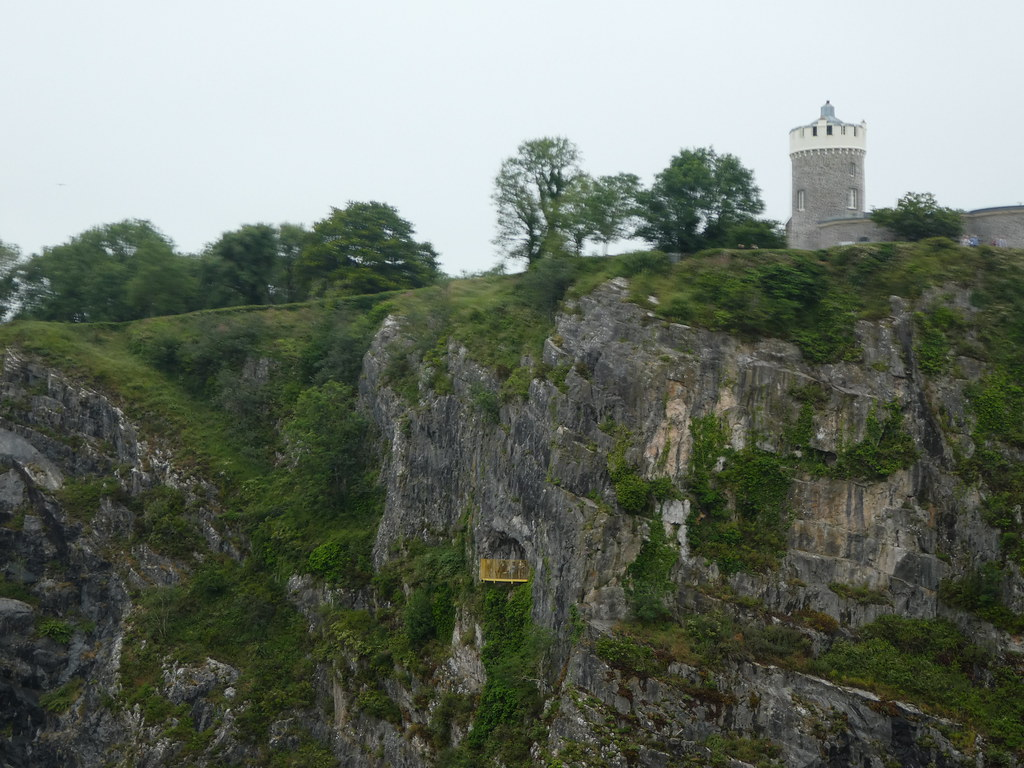 The Giant's Cave balcony and Clifton Observatory Bristol