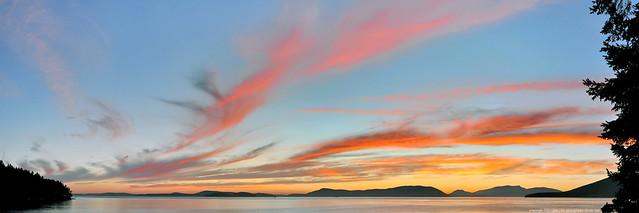 2015-07-02 Sunset Panorama (3072x1024)