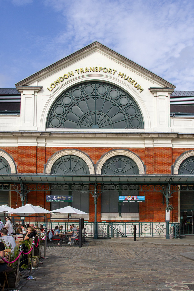 London Transport Museum (Former Flower Market), Theatrical Trail of Covent Garden ©2021 ROH. Photograph by Hugh Mcdermott