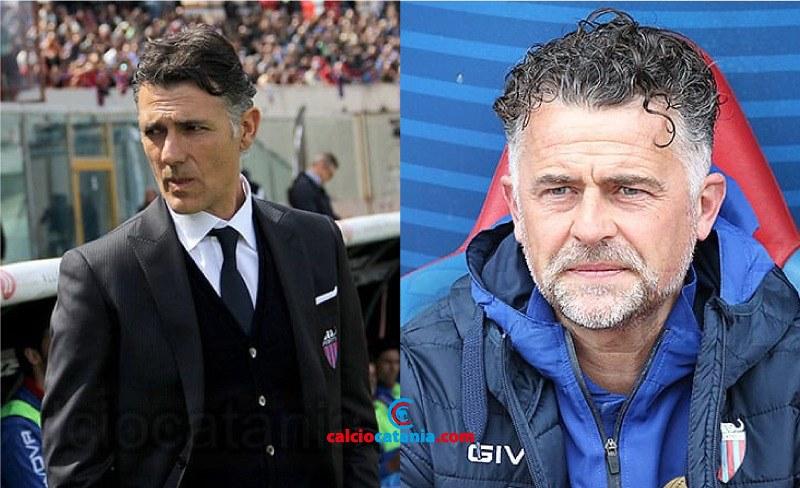 Maurizio Pellegrino e Francesco Baldini: gli ultimi due allenatori rossazzurri ad esser riconfermati...