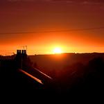 an Oswaldtwistle sunset