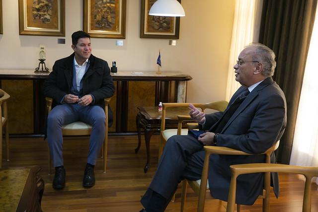 Visita do Secretário da Casa Civil Guto Silva