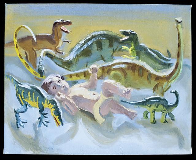 Baby Jesus and Dinosaurs