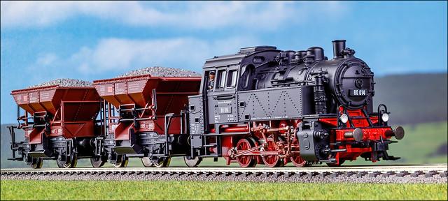 Dampflok der Baureihe 80