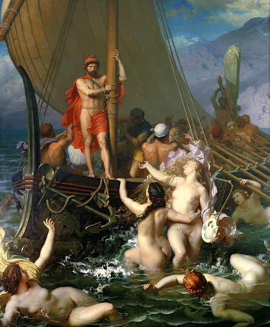 Ulysses_And_The_Sirens_by_Léon_Belly