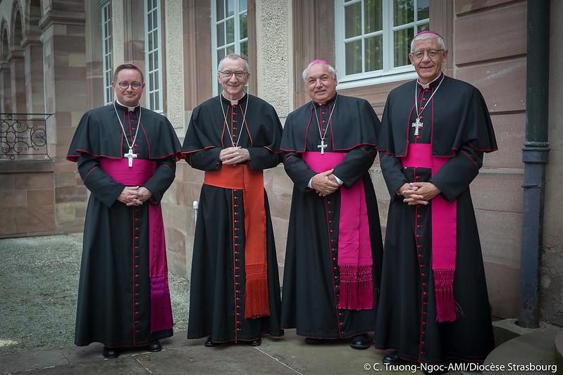 Messe pour le Jubilé de sainte Odile et Ordination épiscopale de Mgr Gilles Reithinger