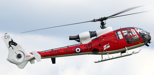 Helicopter Westland SA-341C Gazelle HT.2  Gazelle Squadron XX436 Royal Navy G-ZZLE