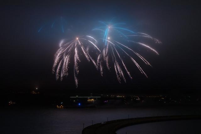 Foggy Fireworks - 3