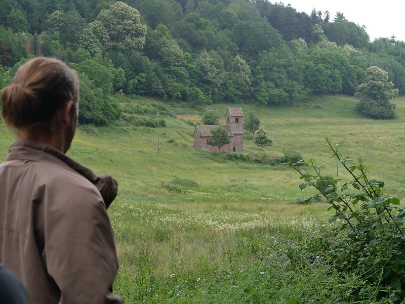 Jubilé Sainte-Odile pèlerinage des jeunes depuis Niedermunster