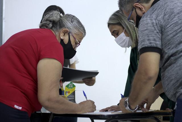 05.07.21 - Início do curso para microempreendedores das galerias populares