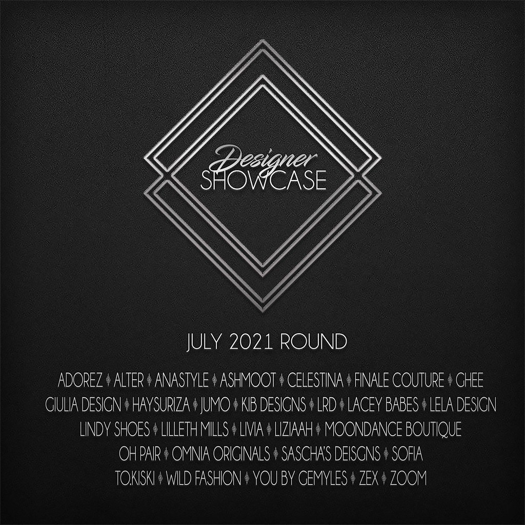 Designer Showcase July -2021