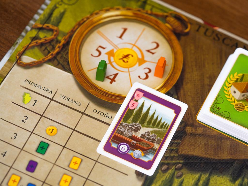 Viticulture + Tuscany boardgame juego de mesa