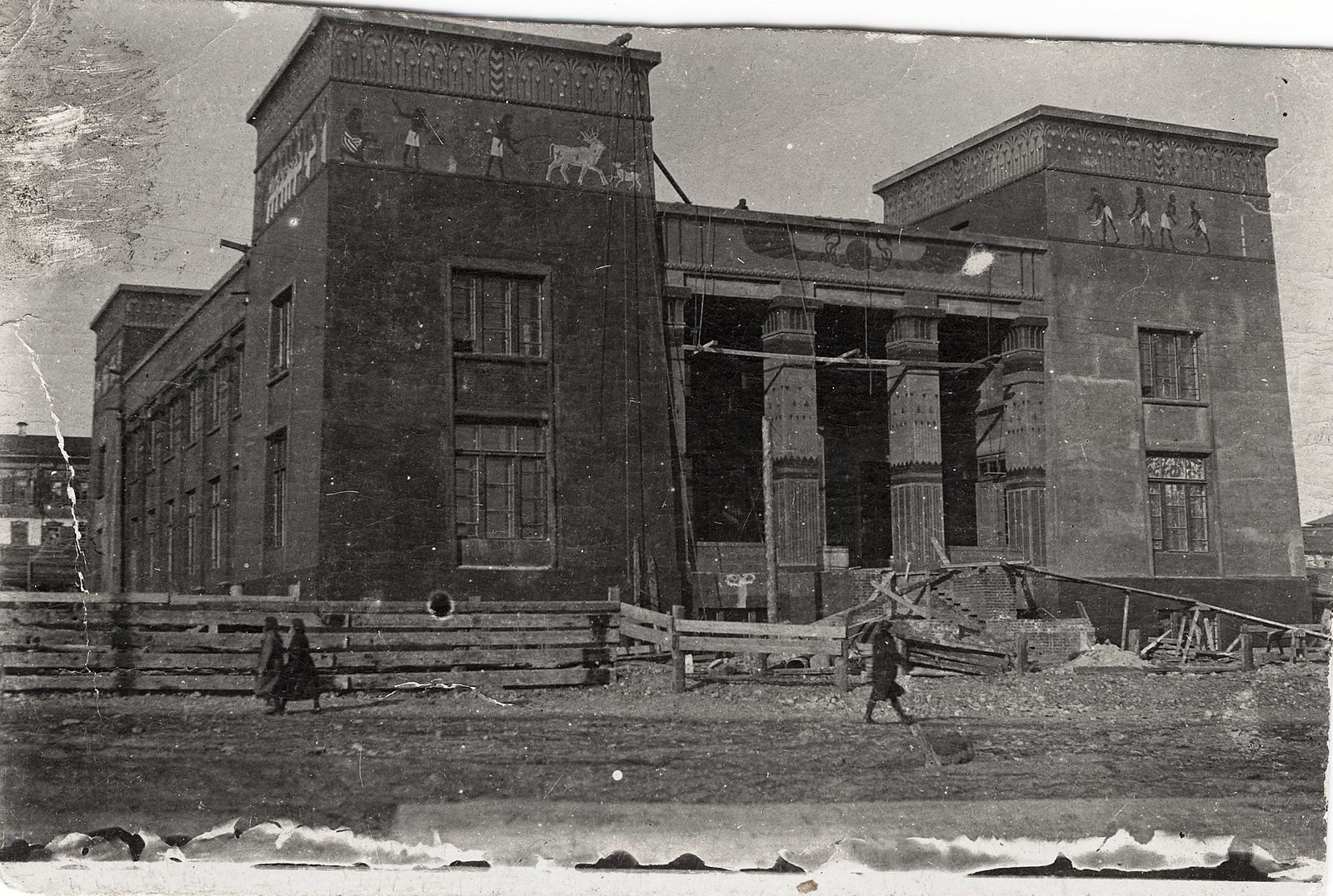 Здание Красноярского краеведческого музея. 1916