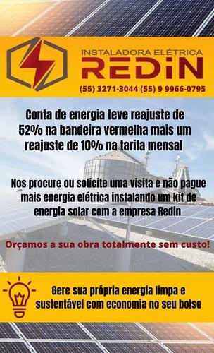 Instaladora Elétrica Redin - sua solução em energia solar