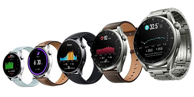 Huawei WATCH 3 Series flagship smartwatch powered by Harmony OS.