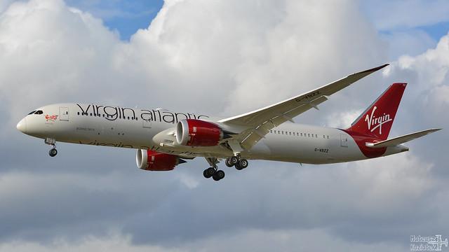Virgin Atlantic Airways 🇬🇧️ Boeing 787-9 Dreamliner G-VBZZ