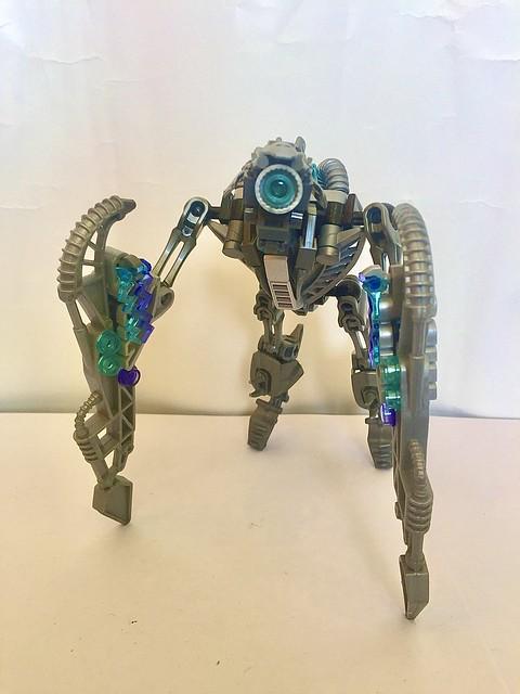 Vahki in the cyberpunk style.