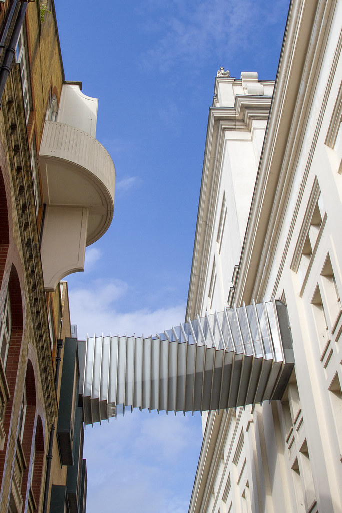 The Bridge of Aspiration, Theatrical Trail of Covent Garden ©2021 ROH. Photograph by Hugh Mcdermott