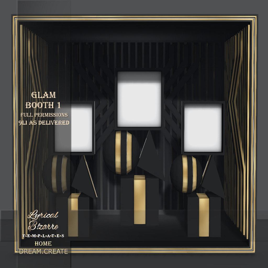 !Lyrical B!zarre Templates! – Glam Booth