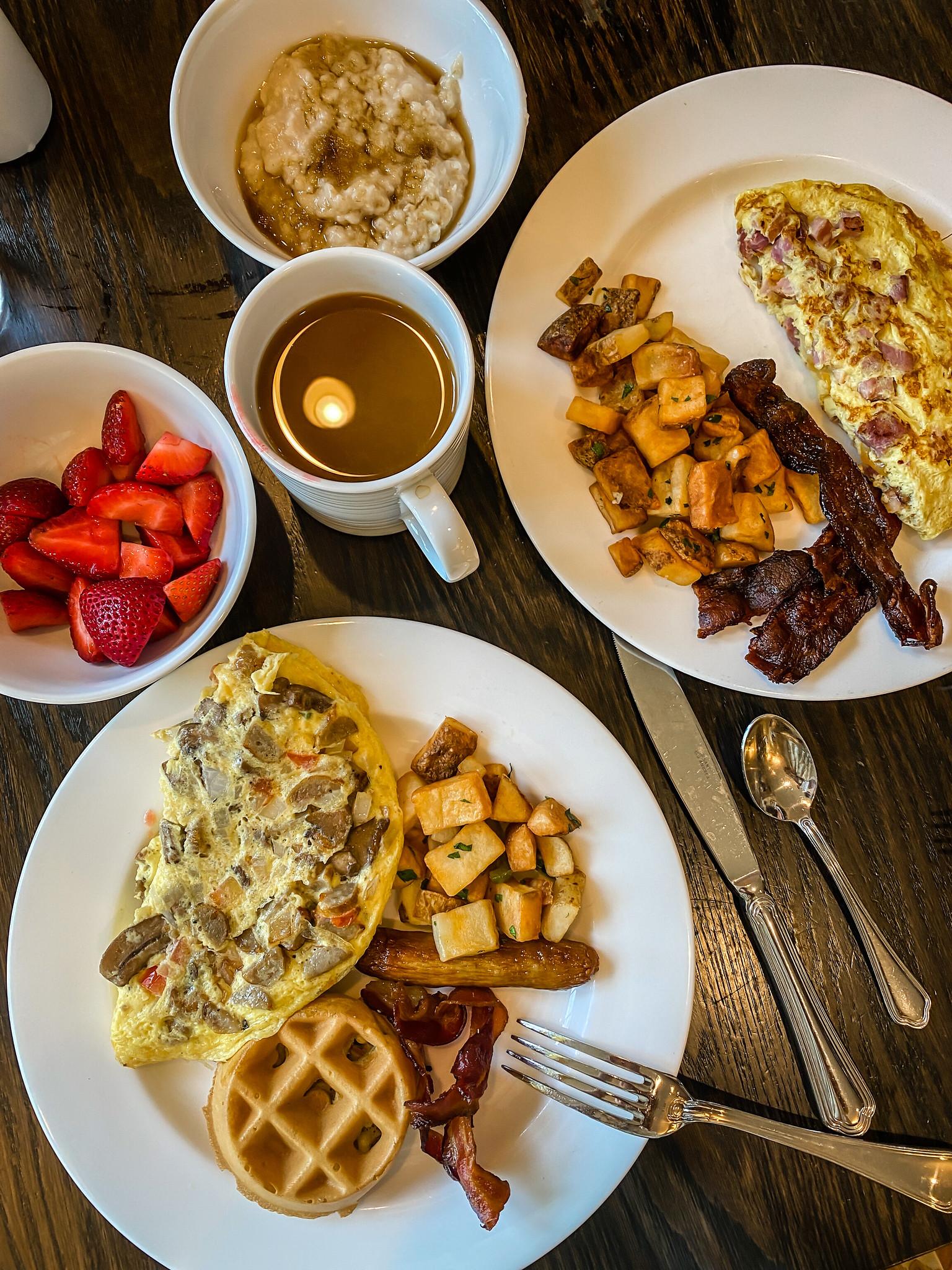 Breakfast at La Bella Vita