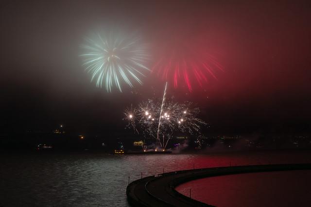 Foggy Fireworks - 2