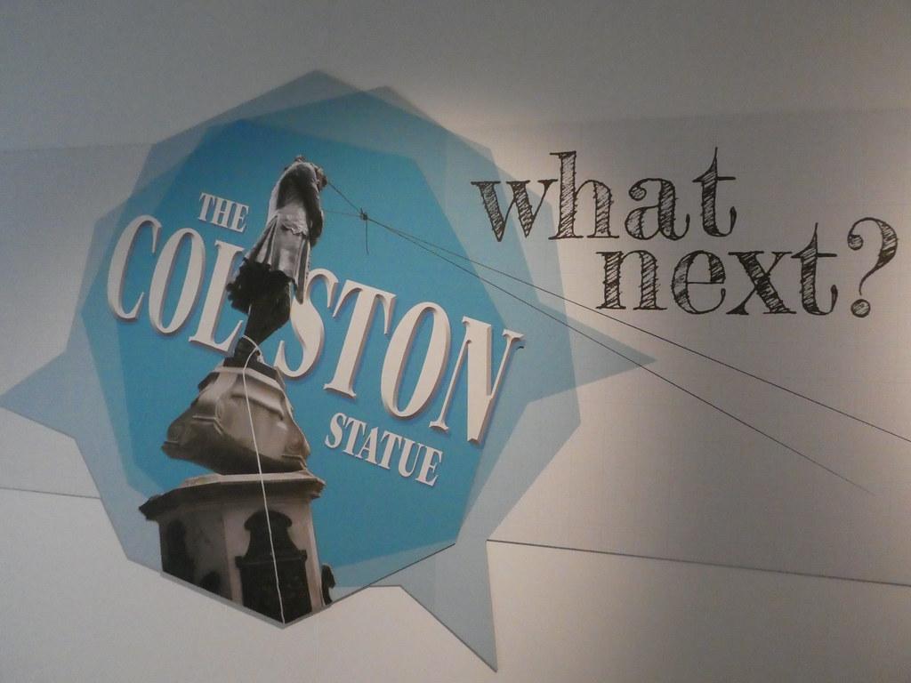 The Colston Statue exhibition, Bristol