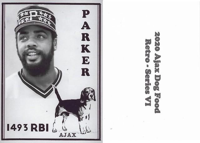 2020 Ajax Dog Food Retro Alt Back - Parker, Dave