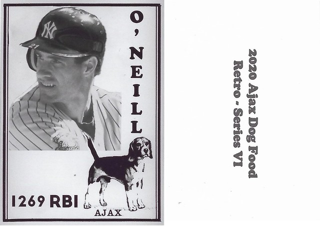 2020 Ajax Dog Food Retro Alt Back - Oneill, Paul
