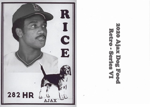 2020 Ajax Dog Food Retro Alt Back - Rice, Jim
