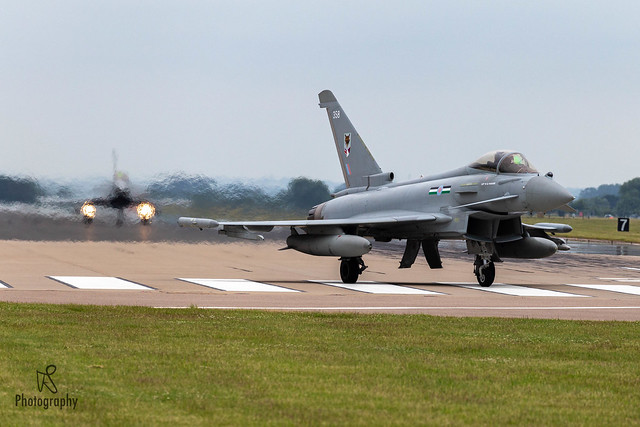 Royal Air Force Eurofighter Typhoon FGR4 ZK358