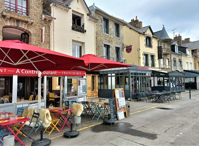 Port de la Houle in Cancale, Brittany, France