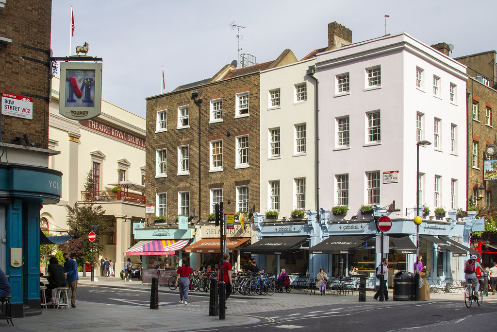 Coffee Houses, Theatrical Trail of Covent Garden ©2021 ROH. Photograph by Hugh Mcdermott