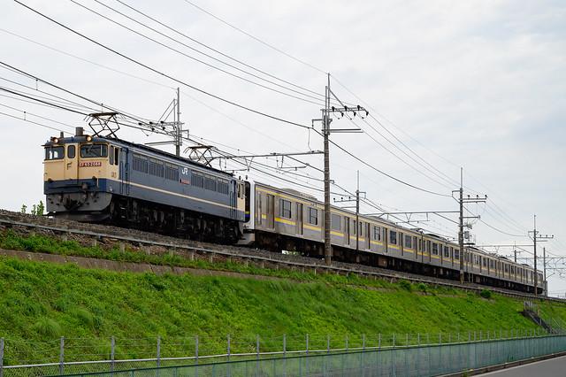 [甲64] 9174レ 209系伊豆急行譲渡甲種輸送