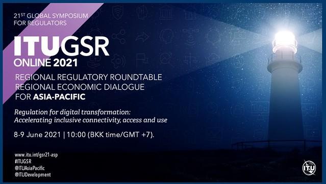 Bangkok (Online) Presidente ANC Partisipa iha eventu ITUGSR Online 2021 nudar Panelista