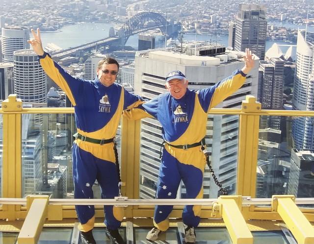 We did it…. Sydney tower few years back….