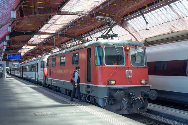 SBB Re 4/4 420 199 Zürich Hbf