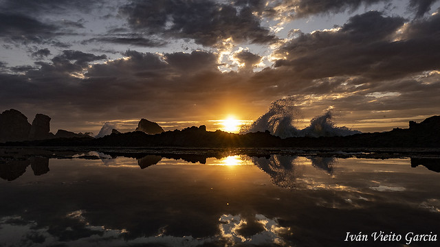 Cantabria sunset