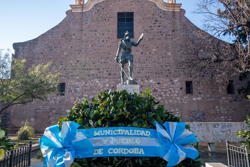 Acto oficial en el cumpleaños 448 de Córdoba