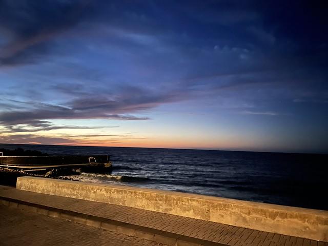 Sonnenuntergang in Stromboli