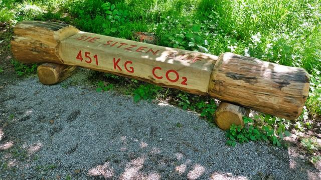 451 kg CO2 Parkbank