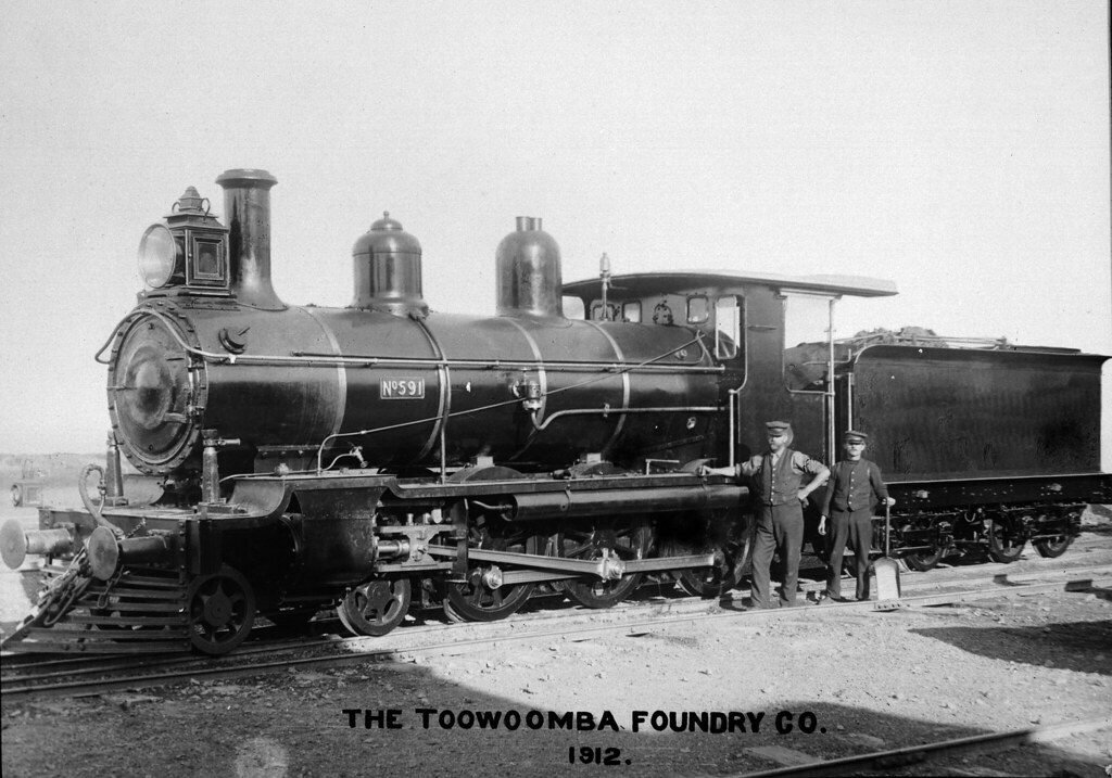 ITM3580067 No 591-THE TOOWOOMBA FOUNDRY CO. 1912. Dept No.QSA0609 PB15 by Queensland State Archives