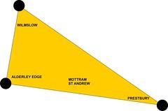 The Golden triangle of Cheshire Cheese: Wilmslow, Alderley Edge & Prestbury #FootballerBelt ⚽