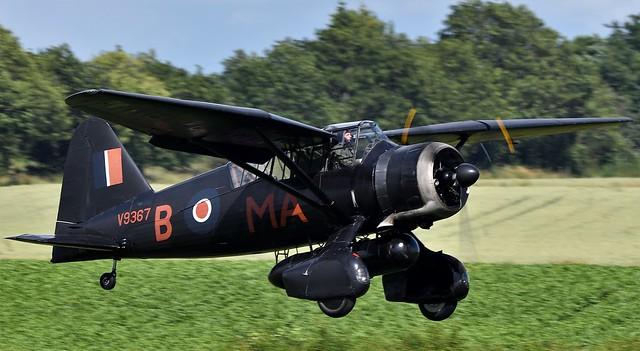 RAF Westland Lysander V9367 G-AZWT Nickname the Lizzie RCAF s/n 2355