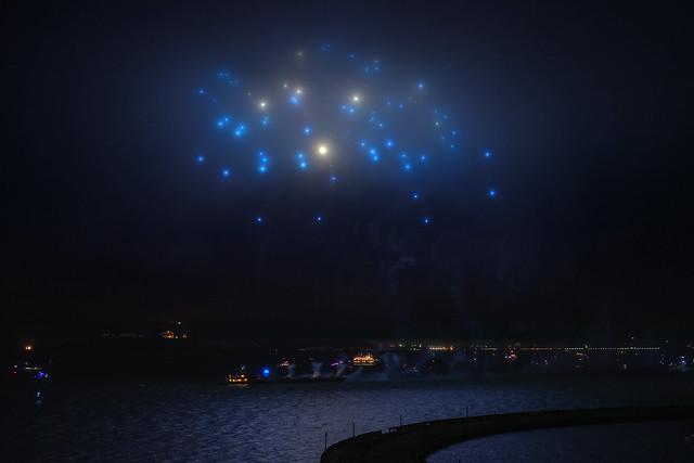 Foggy Fireworks - 4