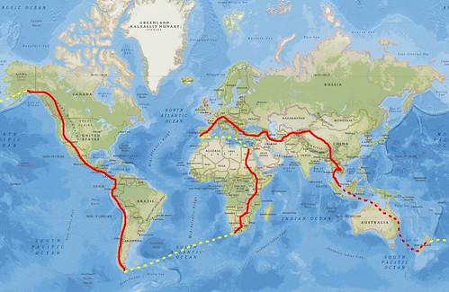 0_4 Cycling World Map