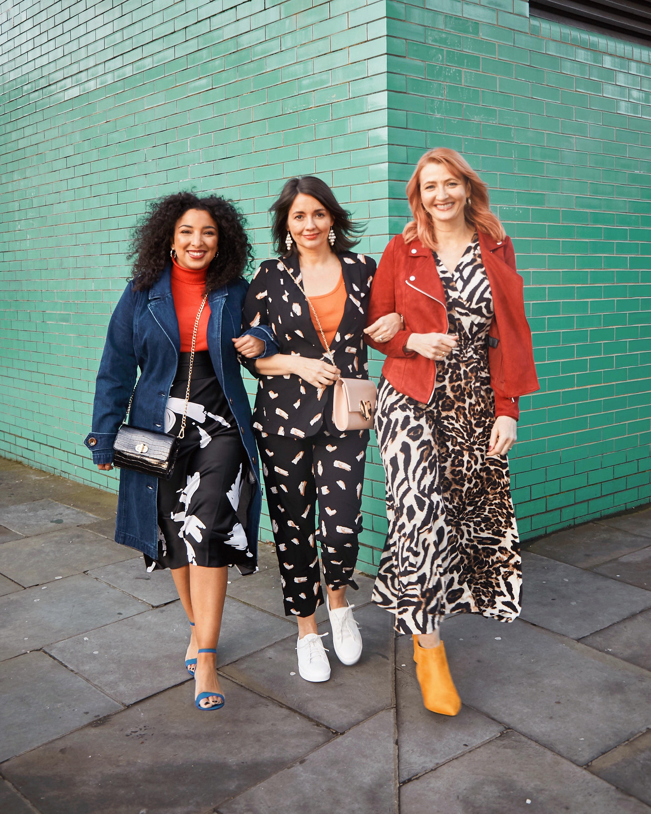 Why I Turned Down a 4-Figure Fee Over Diversity (or Lack of): Catherine Summers AKA Not Dressed As Lamb modelling for JD Williams with two other influencers