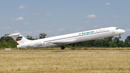 European Air Charter MD-82