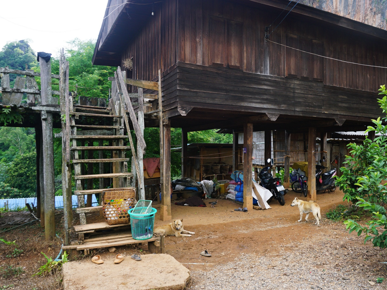 Northern Thailand village